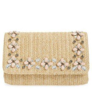 Glint Embellished Raffia Bag on Sale!!